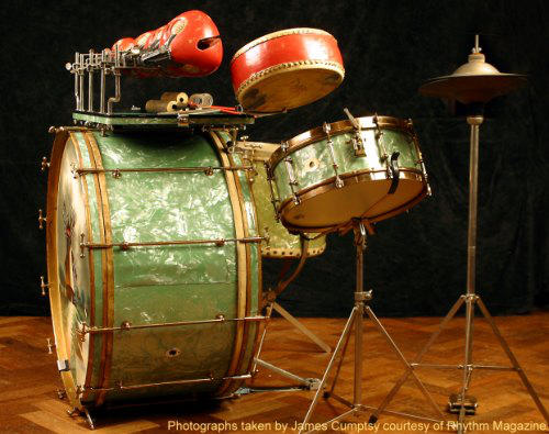 Vintage drums talk home for Classic house drums